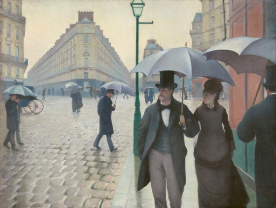 Rue de Paris, jour de pluie, Gustave Caillebotte, 1877 © The Art Institute of Chicago